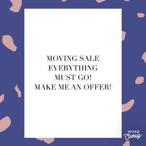 🎉🏙✨ MOVING SALE ✨🏙🎉